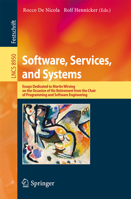 Book cover of Software, Services and Systems